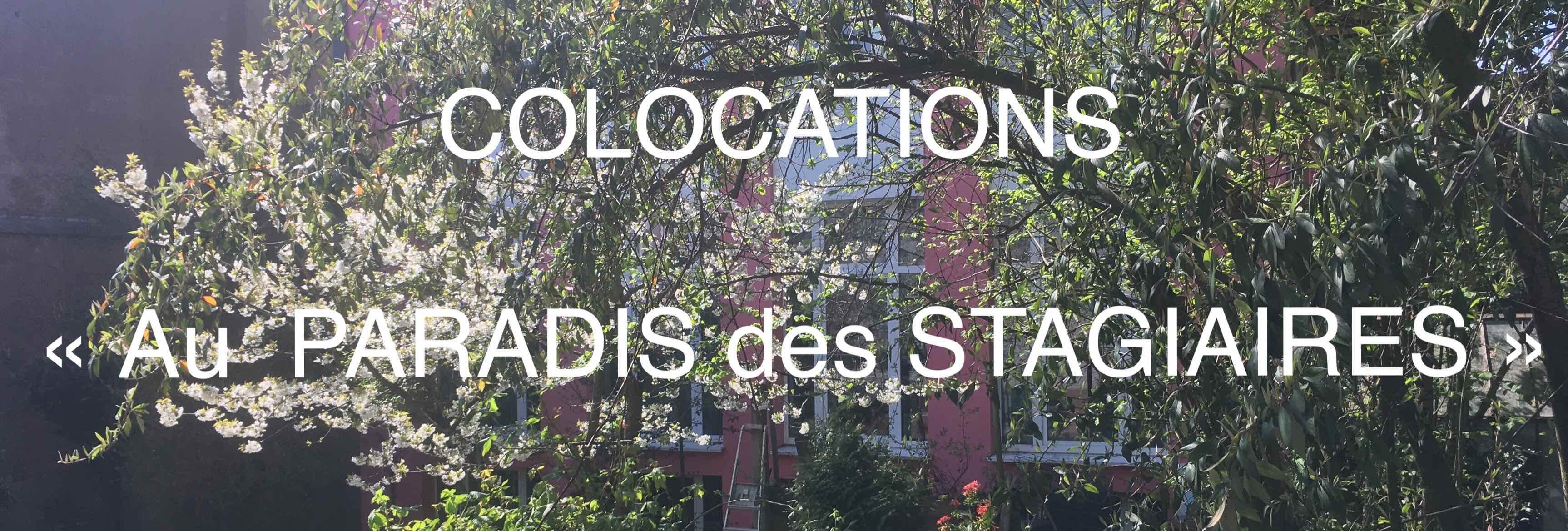Colocations duluxembourg Paradis des Stagiaires