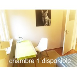 W3 « Le Soleil » chambre en colocation rue Weyer Luxembourg